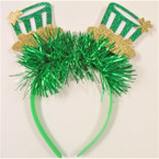 St. Patrick's Day Novelty Headbands 12 per pk .62 ea
