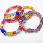 Best Buy Mixed Style Crystal Stretch Bracelets Only 12 per pk .54 ea