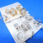 Value Pack 5 Pc Ring Set Gold/Silver Mixed Styles .54 per set