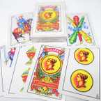 Plastic Coated Playing Cards Spanish Style 12 decks per bx .43 ea deck
