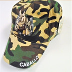 Best Quality Camo Print Baseball Cap w/ Horse sold by pc $ 3.00 each