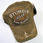 Best Quality Sturgis 2018 Baseball Caps sold by pc $ 3.50 each