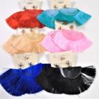 """Popular 3.5"""" Fan Style Tassel Fashion Earrings Mixed Colors  .54 each"""