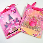 "7"" X 9.5"" Princess Theme 3D Front Gift Bags 12 per pk .54 ea"