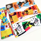 "3.5"" Wide African Clothes Print Headwraps Mixed Styles .54 ea"