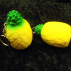 "3"" Squishy Scented Hawaiian Pineapple  Keychains .56 ea"