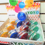 Super Speed Light Up YoYo's 12 per display bx .55 each