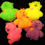 "3.5"" Light Up Bear Puffer Asst Colors 12 per display box .56 each"