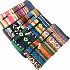 "3"" X 6"" "" Aztec Mixed Pattern 2 Zipper  Coin Purses  .58 each"