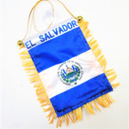 "4"" X 6"" Mini Banner Flag EL Salvador  .54 ea"