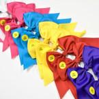 "6""  Light Up Gator Clip Tail Bows Asst Colors   .54 each"