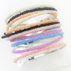 Mixed Color Pearl Cluster Fashion Headbands .52 each