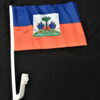 Haiti Country Car Flags 12 per pk 12 per pack  .55 each