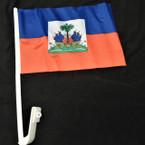 Haiti Country Car Flags 12 per pk 12 per pack  .75 each