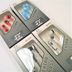 Economy Asst Color Ear Phones 12 per pk $ 1.25 each