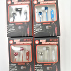 Economy Asst Metallic Color Ear Phones 12 per pk $ 1.25 each