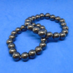 8MM Round Hematite Bead Stretch Bracelets .54 each
