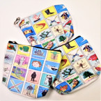 "4"" Lotería Theme Zipper Coin Purses  .54 each"