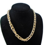 "18"" All Gold  Fashion Heavy Chain Necklaces  .60 each"