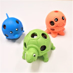 "2.5""-3"" Squishy Sealife Creatures  w/ Multi Color Beads 12 per display bx .56 ea"