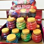 """3"""" Multi Color Twist Jar Style Slime 12 per display bx .75 each"""