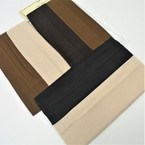 "2 Pk 2.25"" Wide Stretch Headwraps Brown Tones & Black .40"
