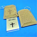 "2"" Mini Bible Keychain w/ Case 12 per pack  .54 each"