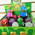 "3.5"" New Colorful MBL NINJA  Slime 12 per display bx .58 each"