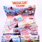 Resue Team Theme DIY  Block Set  12 per display Mixed Styles .58 ea