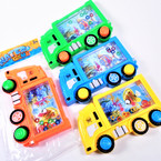 "3.5"" X 5.5"" Truck & Sealife Theme Water Toy Game Asst Colors .60 each"