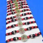 Kids Beaded Bracelet w/ Guadalupe   .52 each