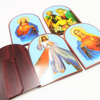 "4"" X 6"" Mixed Saint Photo Picture Stand 12 per pack .81 each"
