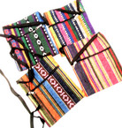 "5"" X 7"" Aztec Print Zipper Side Bag w/ Long Strap 12 per pk  .58 each"