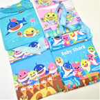 "5.5"" X 8"" Baby Shark Theme Messenger Bags w/ Lg. Strap .65 each"