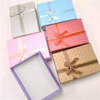 "3"" X 4.25"" Gift Boxes w/ Ribbon 6 colors .54 each"