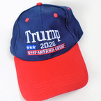 Trump 2020  Baseball Caps Keep America Great Two Tone $ 3.25 per hat