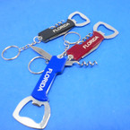 "3.5"" Florida Bottle Opener Keychains w/ Knife & Corkscrew .54 each"
