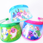 SPECIAL Limited Quantity Kid's Cute  Shark  Theme Sun Visors 12 per pack .65 each