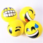 "2.5"" Emoji Theme Squeeze Relax Balls 12 per pk .42 each"