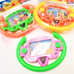 "4"" X 6"" Steering Wheel Fish Theme Water Games 12 per pk .58 each"