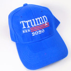 Trump 2020 Baseball Caps All Royal Blue  sold by pc $ 2.50 per hat