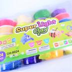 "2.5"" X 1"" Asst Color Molding Foam Beads  24 per case .28 each"