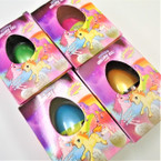 Hatch Your Own UNICORN Egg 1-dz counter display bx .75 ea