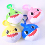 "2.75"" Shark Plush Back Pack Clips Asst Colors .50 each"