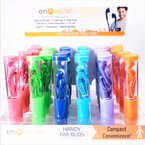 Colorful Handy Ear Buds 24 per display $ 1.25 each