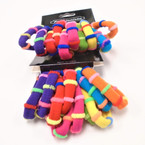 10 Pack Soft & Stretchy Ponytailers Bright Colors  .54 per pack