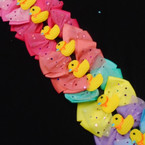 "So Cute 5"" Layered Gator Clip Bows w/ Yellow Ducky  12 per pk .54 each"
