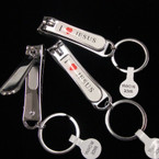 "2 3/4"" I Love Jesus Nail Clippers 12Pcs Per Dozen Package"