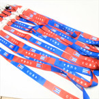 "38"" DBL Side Imprint Cuba Lanyards w/ Disconnect .54 each"