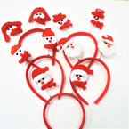 So Cute 5 Style  Bobble Christmas Headband  .56 each